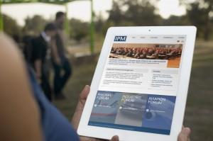 responsive Tablet Ansicht von IPM