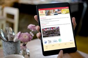 responsive Tablet Ansicht von ISHR